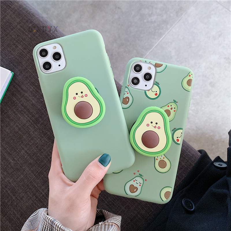 Avocado Soft Case for iPhone SE (2020) 22