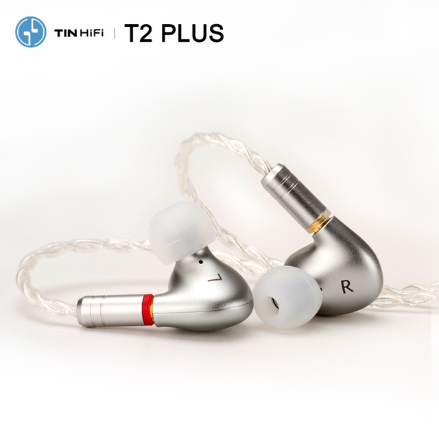 Tinhifi T2 PLUS / T2 / T2 pro HiFi Audio Dual Dynamic In ear Earphone IEM with Detachable MMCX Cable