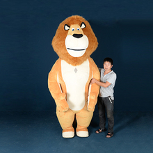 fany Lion Inflatable Costume Mascot Halloween Costumes For 2M Tall Suitable 1.6m To 1.85m Adult cosp