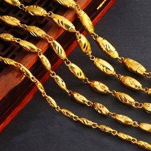Для мужчин Цепочки и ожерелья цепи золотое покрытие однотонные