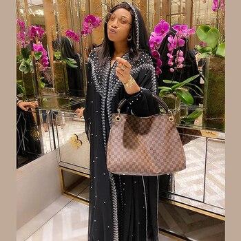 Vestido Abaya musulmán de Kaftan para mujer, Kimono de mujer de Dubái,...