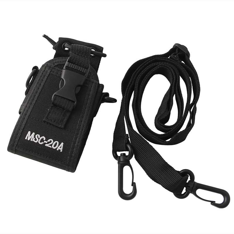 MSC-20A Walkie Talkie For Yaesu Icom Motorola GP328 CB Radio Bag Case Holster