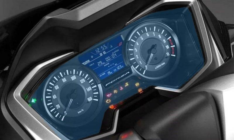 Displayschutzfolie Tachoschutzfolie Screen Protector Aufkleber passend f/ür H O N D A FORZA 300 2018,2 x Ultra Klar
