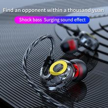 Olhveitra Schwere Bass Kopfhörer Wired Headset Gaming Für iPhone Samsung Xiaomi In-Ear-Stereo 3,5mm Auriculares Ohrhörer Mit mic