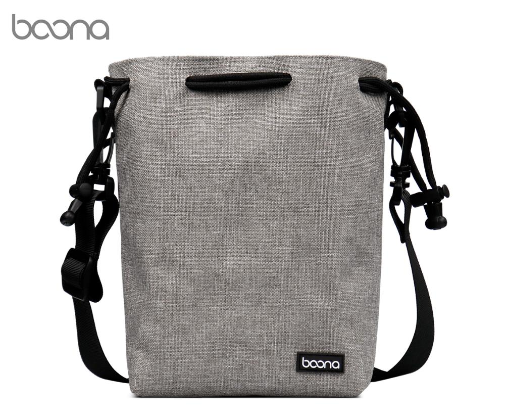 Boona Waterproof Shoulder strap Camera Pouch Drawstring Camera Bag for DSLR Nikon Canon Sony Pentax image