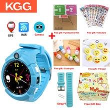 KGG KG360 Kids Smart Watch with Camera GPS WIFI Location Child smartwatch SOS Anti Lost Monitor Tracker baby WristWatch pk Q360