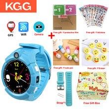 Kgg KG360子供とカメラgps wifi場所子スマートウォッチsos抗ロストモニタートラッカー赤ちゃん腕時計pk Q360