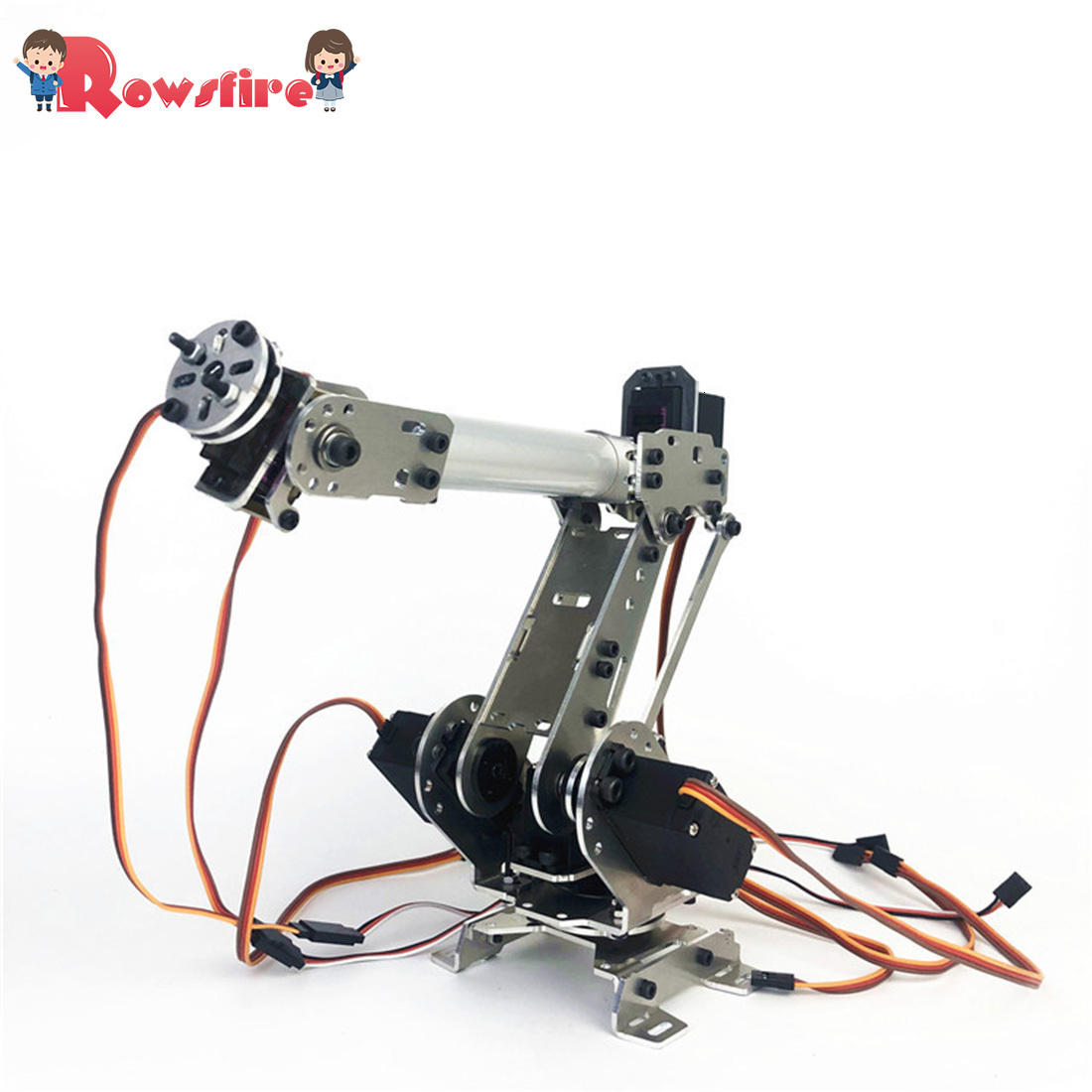 DIY 6DOF Mechanical Arm Robot Kit ABB Industrial Robot Model