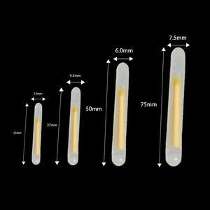 Image 3 - 50 Packs/box 4.5X37MM 7.5X75MM Fishing Glow Stick Luminous Night Sticks Wand Chemical Fluorescent Lighting Stick Pesca