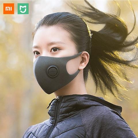xiaomi mijia kn95 n95 smartmi filtro mascara bloco 97 pm 2 5 material com valvula