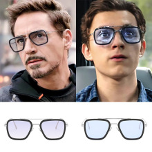 Luxury Fashion Avengers Tony Stark Flight Style Sunglasses Men