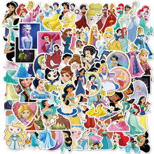 100pcs Disney princess stickers PVC do not repeat pegatinas car motorcycle pull bar box cartoon graffiti stickers waterproof