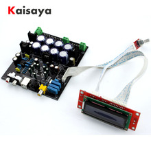 ללא USB כרטיס בת AK4490 + AK4118 + op amp NE5532 decodificador רך בקרת DAC אודיו מפענח לוח F2 011