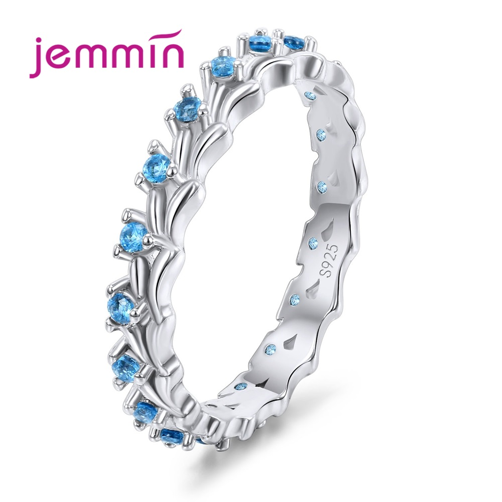 New 925 Sterling Silver Ring Trendy Concise Style Ladies Fashion Jewelry Best Gift For Party Appointment