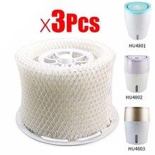3 шт. OEM Увлажнитель воздуха части фильтра бактерии и весы для Philips HU4801 HU4802 HU4803 HU4811 HU4813 увлажнитель Par