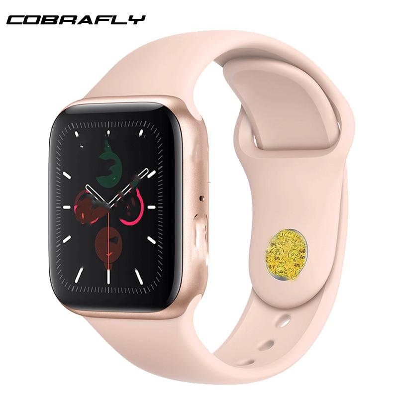 Cobrafly IWO 12 pro умные часы PK iwo 8 8 plus 9 для женщин и мужчин ЭКГ монитор сердечного ритма IP68 Водонепроницаемый Siri Bluetooth фитнес часы