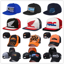2021 New Arrival Car Racing Caps 3D Embroidered Men Women Baseball Cap Motorcycle Cap Cotton Hats Casquette Bone Hip Hop Hat