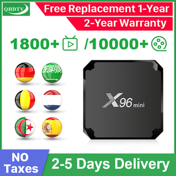 X96 Mini IPTV Arabic Belgium Spain IPTV Germany Android 9.0 S905W QHDTV IPTV Arabic Algeria Dutch IP TV Box No App Include