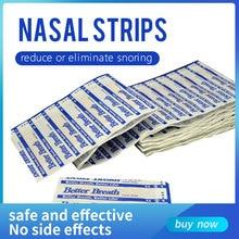 Tiras nasales Better breath para mejorar la respiración, tiras antironquidos para dormir y ronquidos, para el cuidado de la salud, lote de 200 unidades