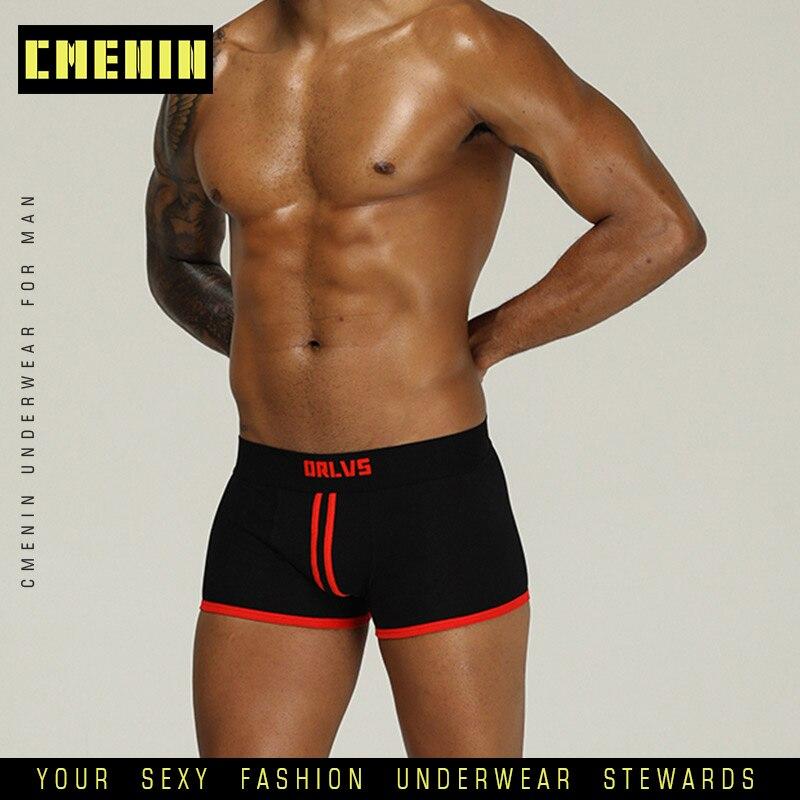 Hot Sale Cotton Boxer Men Underware Boxers LOGO Low Waist Sexy Mens Underwear Boxershorts Top Innerwear OR167