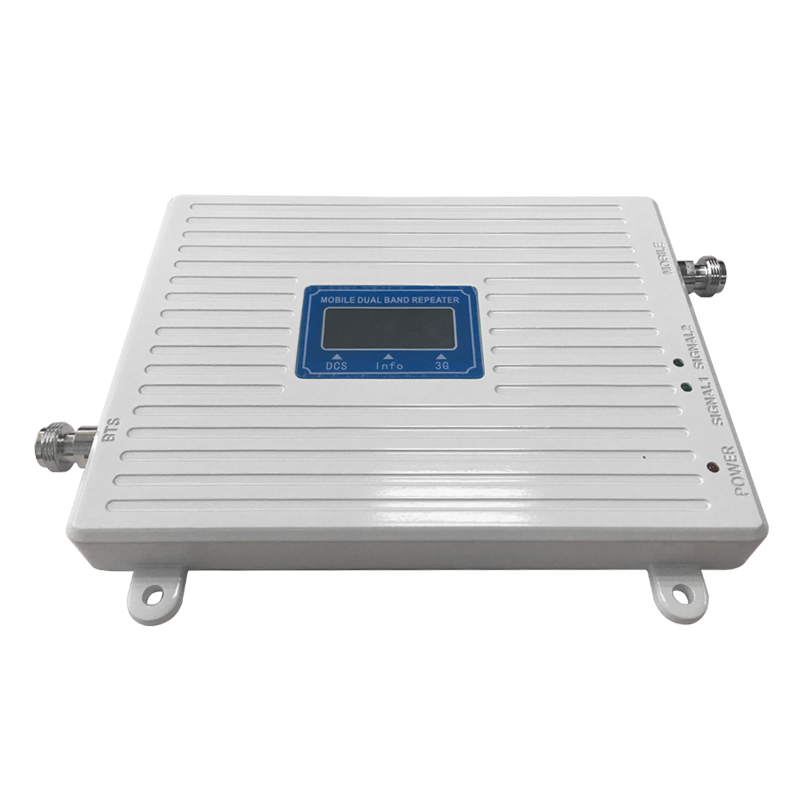 Image 3 - DCS 1800 WCDMA UMTS 2100 Dual Band Cell Phone Cellular Signal Repeater Amplifier  Mobile Phone Signal Booster  for 2g 3g 4g-in Signal Boosters from Cellphones & Telecommunications