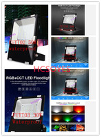 MIlight AC110V 220V 24V DC FUTT02 FUTT03 FUTT04 FUTT05 FUTT06 10W 20W 30W 50W 100W RGB+CCT LED Floodlight RGB LED Lamp