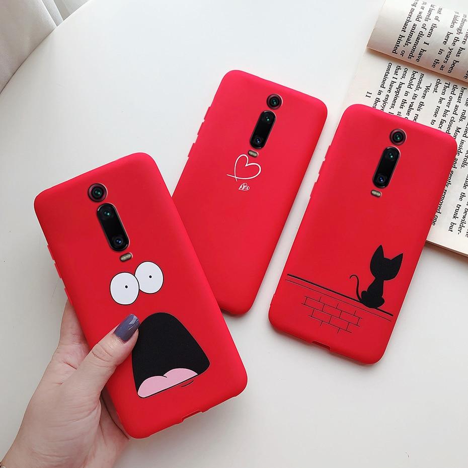 for Xiaomi Mi 9T redmi k20 case cover protective soft candy tpu silicone back capas fundas Xiomi mi9T mi 9 T 9T Pro case bumpers(China)