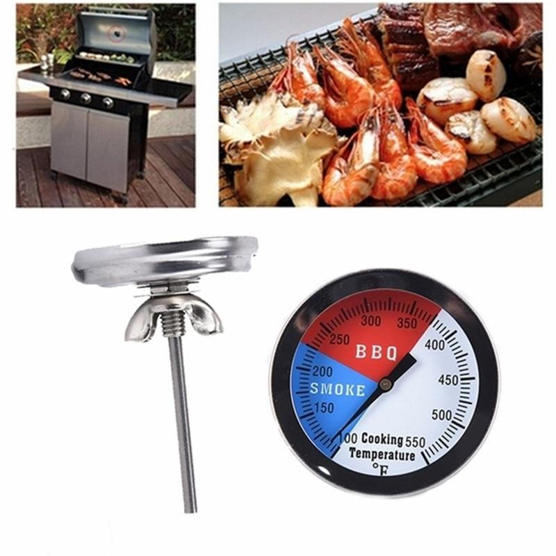 Nerūdijančio plieno Grilis Priedai Grilis Mėsos Termometras Dial - Matavimo prietaisai - Nuotrauka 5
