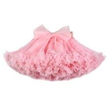 Ragazze pannello esterno del tutu extra soffici pettiskirt della principessa morbido tulle della ragazza dei capretti del partito di ballo gonne 1 10 Anni di bambino
