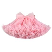 สาว Tutu กระโปรง Extra fluffy pettiskirt Princess Soft Tulle เด็กสาวปาร์ตี้เต้นรำกระโปรง 1 10 ปี