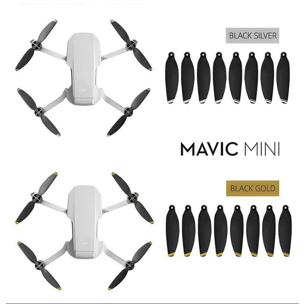 Propellers For DJI Mavic Mini CW CCW 4726F Foldable Low Noise Quick Release Drone Quieter Flight And Powerful Props