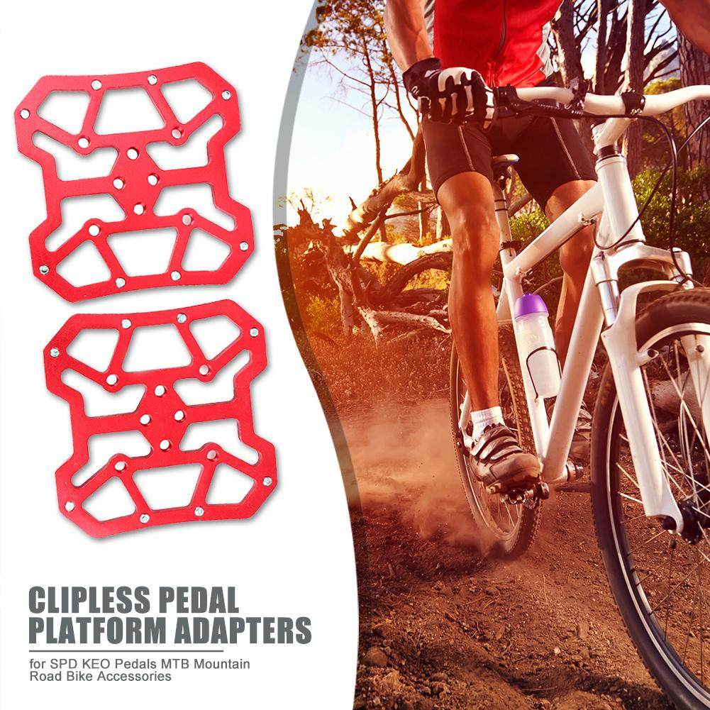 Plate Pedal Lock Cleats Accessories Riding Splint Self Locking Bicycle Parts 6T