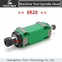 750W 1Hp ER20 Max. 3000~8000rpm Power Head Power Unit Machine Tool Spindle Head for boring milling drilling tapping Machine