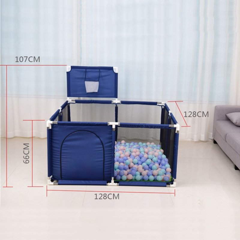 Baby Playpen Made With Stainless Steel Tube For Baby Pool Balls 4