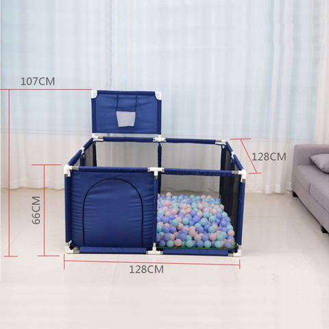 IMBABY Baby Playpen Dry Pool With Balls Baby Fence Playpen For Newborn Baby  Activity Supplies Safety Barrier Bed Fence Multan