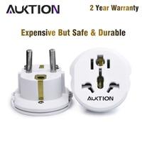 AUKTION-Adaptador convertidor Universal para enchufe de pared, cargador de viaje de 250V CA, herramientas de alta calidad, 16A, UE (Europa)