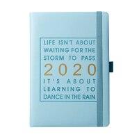 Con soporte para bolígrafo  planificador mensual de 320 páginas  Agenda  mapa del mundo  calendario A5 en-dec  regalo  Agenda Diaria  cuaderno grueso