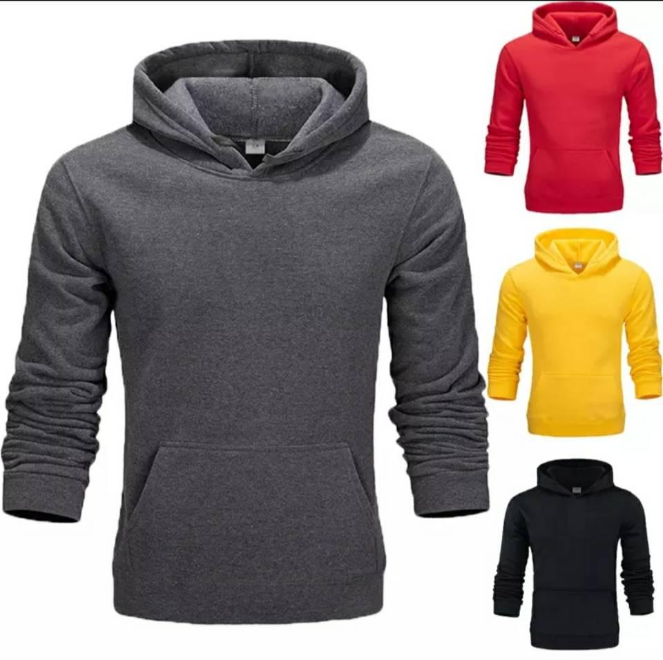 2020 Solid Color Hooded Sweatshirt Men And Women Hooded Sportswear Sports Suit Sweatshirt + Jogging Sportswear Sports Pants