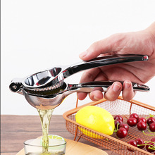 Stainless Steel Lemon Squeezer Convenient Manual Lime Orange Juicer Citrus Press Kitchen Bar Food Processor Gadget