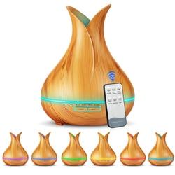400ml zdalnego sterowania Aroma olejek eteryczny do nawilżacza dyfuzor aromaterapia elektryczny ultradźwiękowy generator chłodnej mgiełki dla domu w Nawilżacze powietrza od AGD na