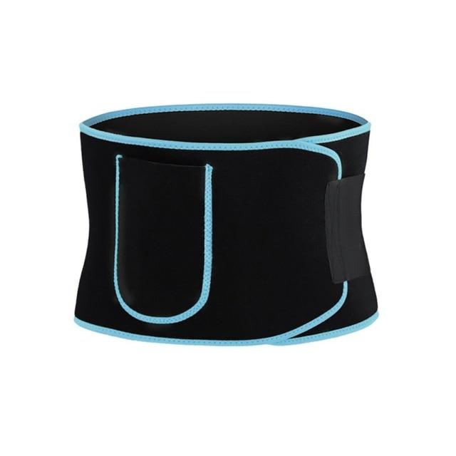 Waist Trainer Women-Waist Cincher Trimmer Sweat Crazier Slimming Body Shaper Belt-Sport Girdle Belt Weight Loss With Pocket 1