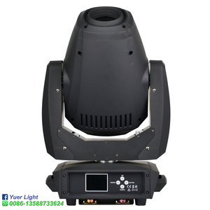Image 3 - 2 шт./лот 260 Вт Светодиодный точечный светильник 3 в 1 движущийся головной светильник 2 грани вращение призмы шесть призматических светодиодных движущихся головок DJ Диско сценическое освещение
