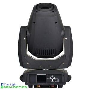 Image 3 - 2 قطعة/الوحدة 260 واط LED بقعة شعاع غسل 3IN1 تتحرك رئيس ضوء 2 الوجه المنشور دوران ستة المنشور LED تتحرك رئيس DJ ديسكو المرحلة ضوء