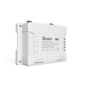 Image 4 - Sonoff 4CH 10A/Gang Wifi Smart Switch 4 Gang Four Channel Remote Wifi Light Switch Control 4 Devices Work with Alexa Google Home