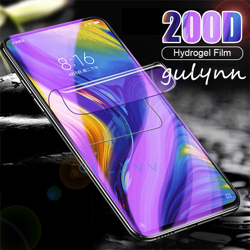 Anti Blue Light Hydrogel Film For Xiaomi Redmi Note 8 7 <font><b>6</b></font> <font><b>5</b></font> 4X 4 Pro K20 Front Screen Protector For Redmi 7 8 7A Ultra-thin Film image