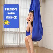 100x280cm Kids Swing Hammock Seat Nylon Elastic Hammocks Chair Swing For Kid Adult Summer Outdoor Portable Camping Seat Dropship
