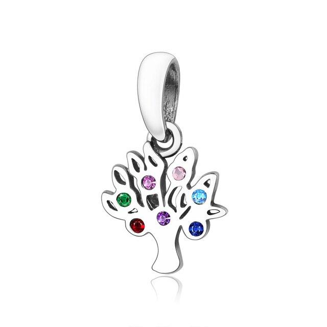 Купить 2021 зимняя коллекция 925 серебряный крест дерева crown очаровательные