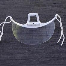 1/2/4/5 шт Пластик прозрачная маска Перманентный макияж тату поставки предотвратить слюны Анти-туман прозрачные линзы зубные татуировки аксессуар
