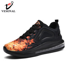 VESONAL Brand Fashion Casual Sneakers Men For Adult Running Shoes New Spring Autumn Gym Footwear Comfort Wear-Resisting Non-Slip(China)