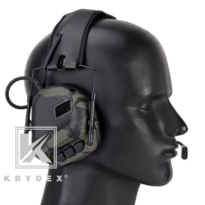 Image 5 - KRYDEX Tactical Headset With Micphone Peltor Detachable Noise Reduction Sound Pick Up Communication Electronic Headphone MCBK